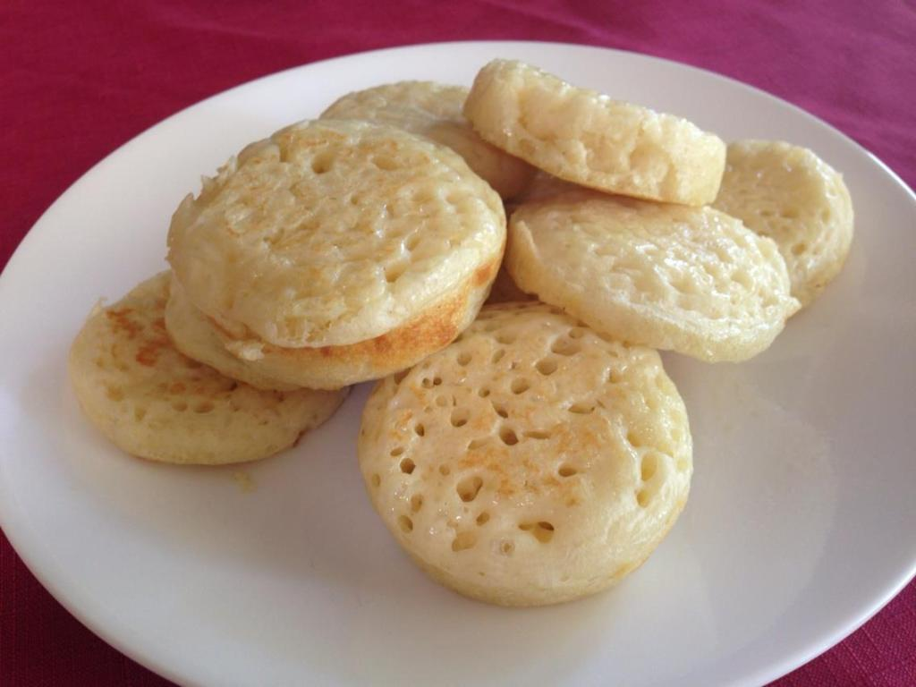 Thermomix Crumpets