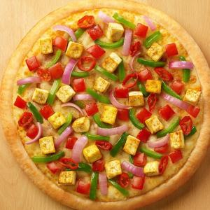 Chatpata Paneer Pizza