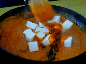 Easy Paneer Makhanwala Recipe with step by step pictures.