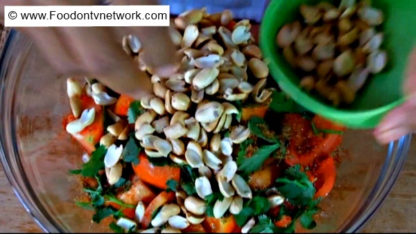 How to Make Masala Peanut Tomato Recipe.