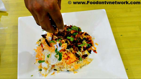 Restaurant Style Home Made Veg Biryani Recipe.