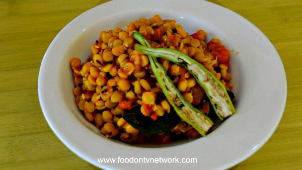 Home Made Chana Dal Recipe.