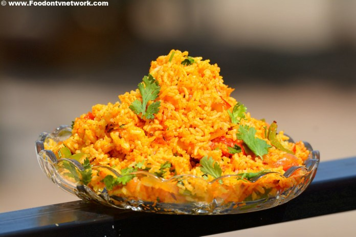 Veg Pulao Recipe Photo.