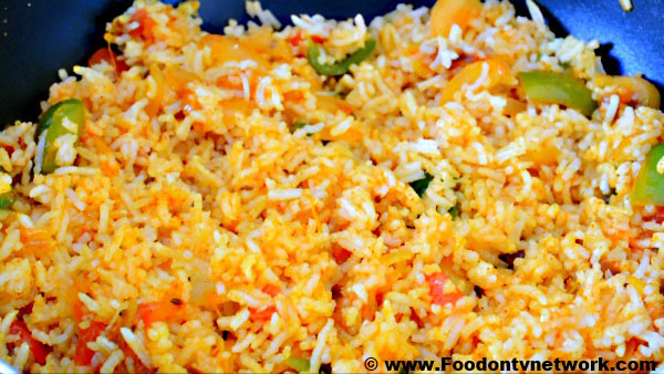 Home Made Veg Pulao Recipe.