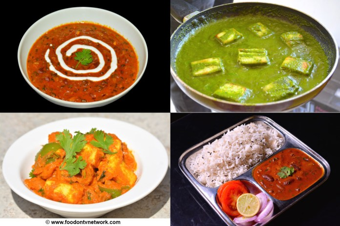 Best 25 north indian recipes. top 25 north indian foods.