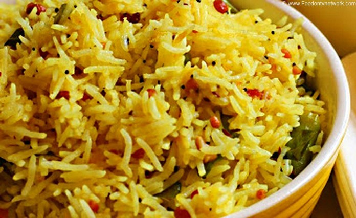 Kache Aam Ke Chawal Recipe. Indian Rice Recipe. Indian Rice Dish.