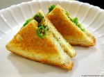 Cheese Chilli Sandwich Recipe. Cheese Chilly Sandwich Recipe. Cheese Chilli sandwich on Tawa.