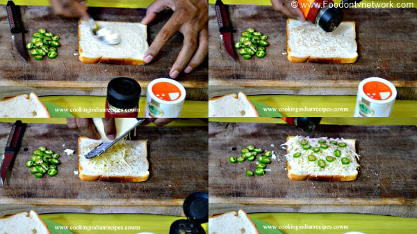 Cheese Chilli Toast Recipe. Cheese Toast Recipe. Indian Toast Recipe. Vegetarian Toast Recipe.
