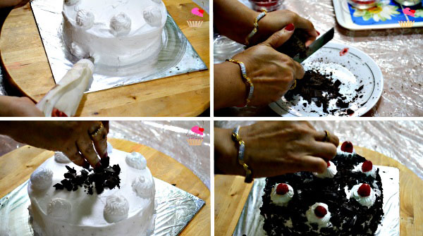 Black Forest Cake Recipe. Quick Cake Recipe. Cake Baking. Eggless Black Forest Cake Recipe.