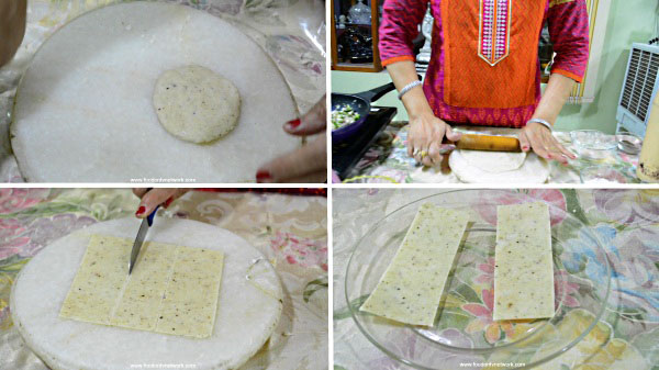 Matar Paneer Pockets Recipe. Gujarati Matar Paneer Recipe. Gujarati Matar Paneer Snacks Recipe.