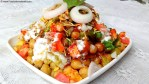 Chole Chana Chaat Recipe, Chole Chaat Recipe, Chana Chaat Masala Recipe, Chana Chaat Recipe with Yogurt, Indian Chaat Recipes, Indian Fast Food Recipe.