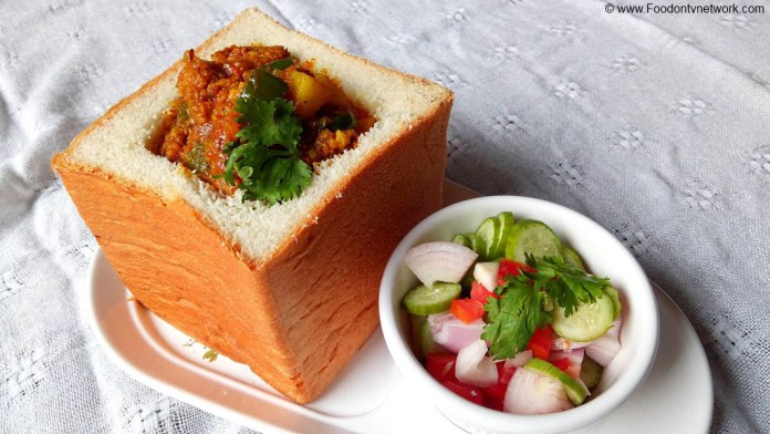 Bunny Chow Recipe, Easy Bunny Chow Recipe, Bunny Chow Recipe Vegetarian, How to Make Bunny Chow, Homemade Bunny Chow Recipe, Indian Street Food Recipe.