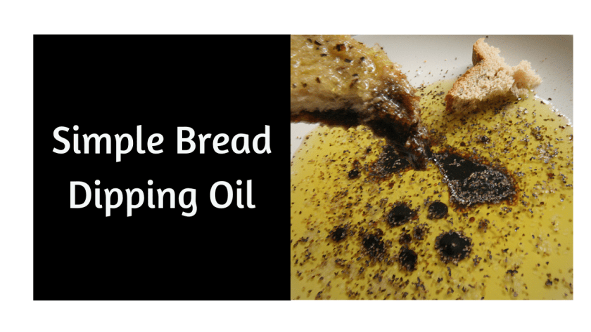 Simple Bread Dipping Oil