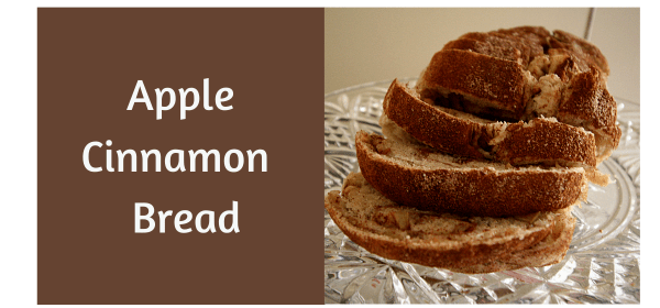Apple Cinnamon Sandwich Bread