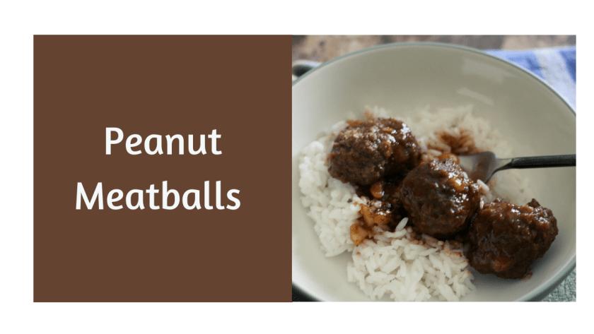 peanut meatballs in jelly sauce