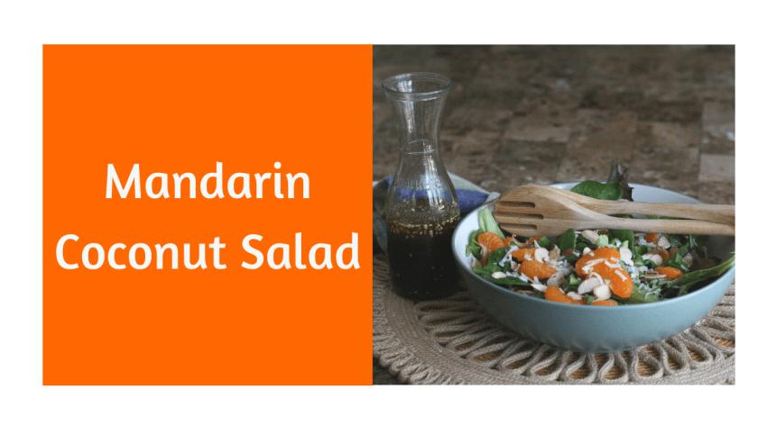 Mandarin Coconut Salad