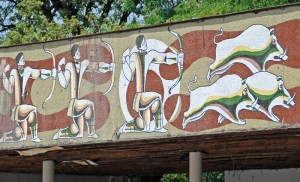 Road to Sighnaghi - Soviet Mosaic