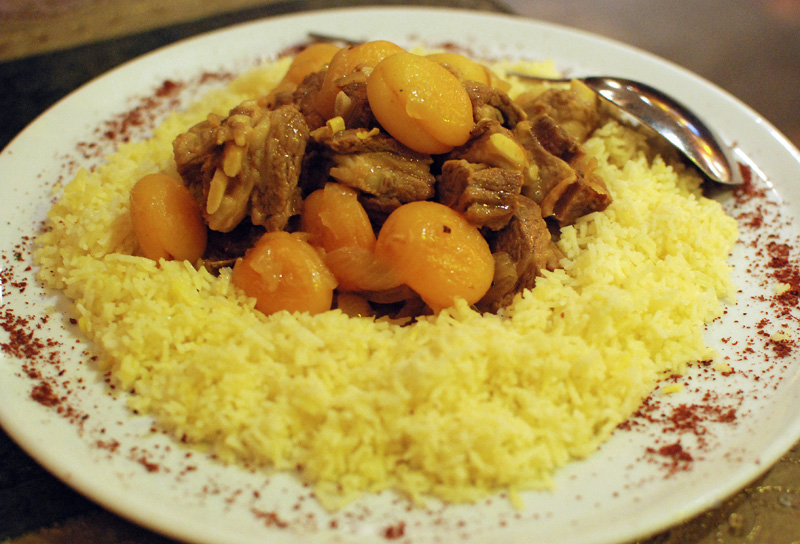 Azeri Cuisine - Chinar on the Island - Govurma Plov