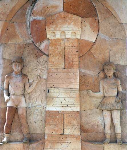 Lentekhi - Monument