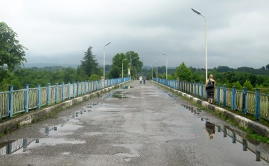Abkhazia - Ingur Crossing Point