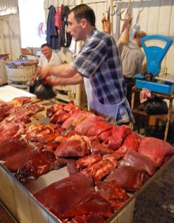 Tbilisi - Central Market - Meat