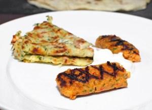 Armenian Cuisine - Crawfish Lyulya-Kebabs