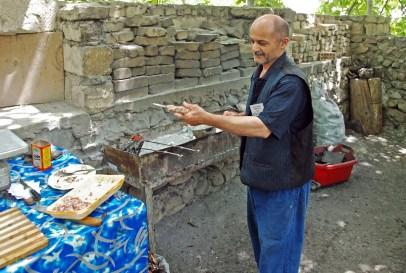 Ordubad - Shora Cheshme Restaurant - Chef