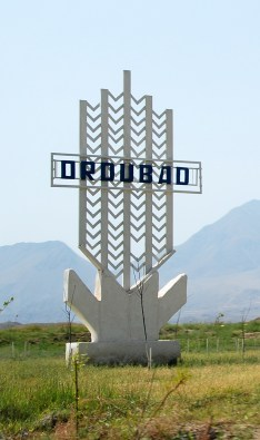 Entering Ordubad