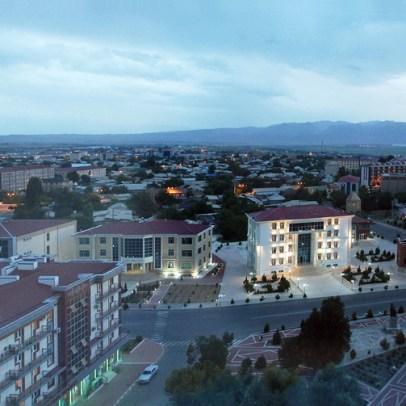 Nakhchivan City - View from Hotel Tabriz