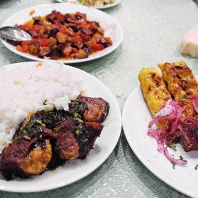 Nakhchivan City - Restaurant at Hotel Tabriz