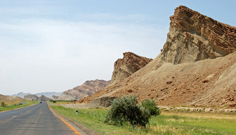 Road to Nakhchivan City