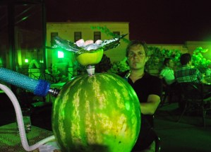 Azerbaijan - Baku - Watermelon Hookah