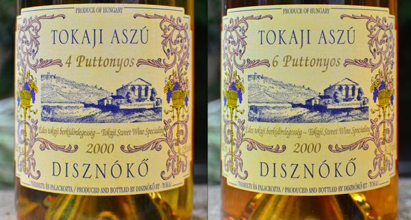 Tokaji Wine Review: Disznókő Tokaji Aszú 4 & 6 Puttonyos 2000
