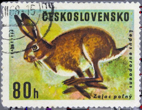Stamp from Czechoslovakia - 1966