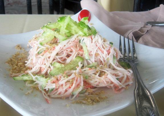 Azeri Cuisine - Baku Palace - Crab Salad