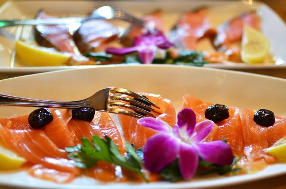 Azeri Cuisine - Baku Palace - Smoked Fish