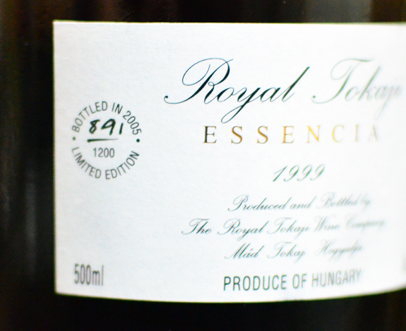 Tokaji Wine - Royal Tokaji Essencia 1999