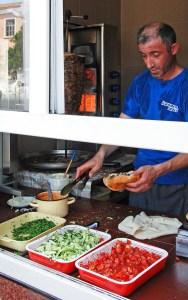 Azerbaijan - Quba - Döner Kebab