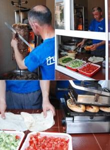 Azerbaijan Travel - Quba - Making Doner Kebabs