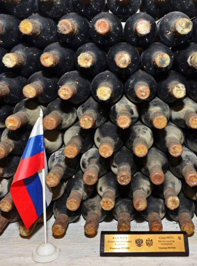 Cricova Winery - Vladimir Putin's Wine