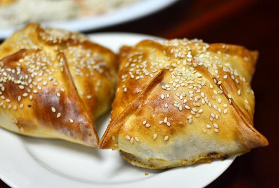 Uzbek Restaurant - Taam Tov - Samsa