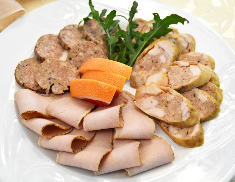 Moldovan Food - Cricova Winery - Cold Cuts
