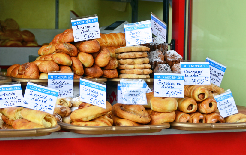 Chișinău Central Market - Baked Goods