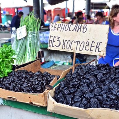Chișinău Central Market - Dried Fruits