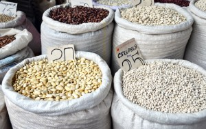 Chisinau Central Market - Beans
