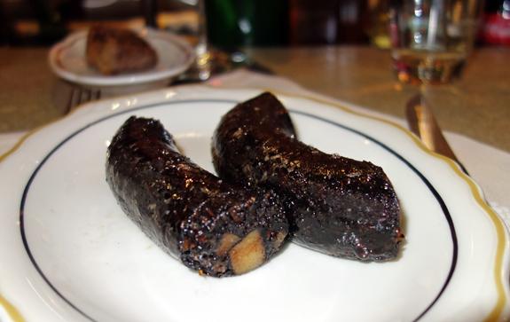 M. Wells Steakhouse - Blood Sausage