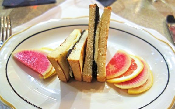 M. Wells Steakhouse - Caviar Sandwich