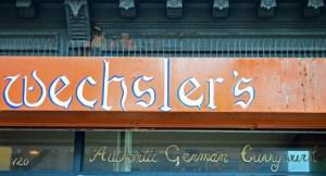 Currywurst - Wechsler's