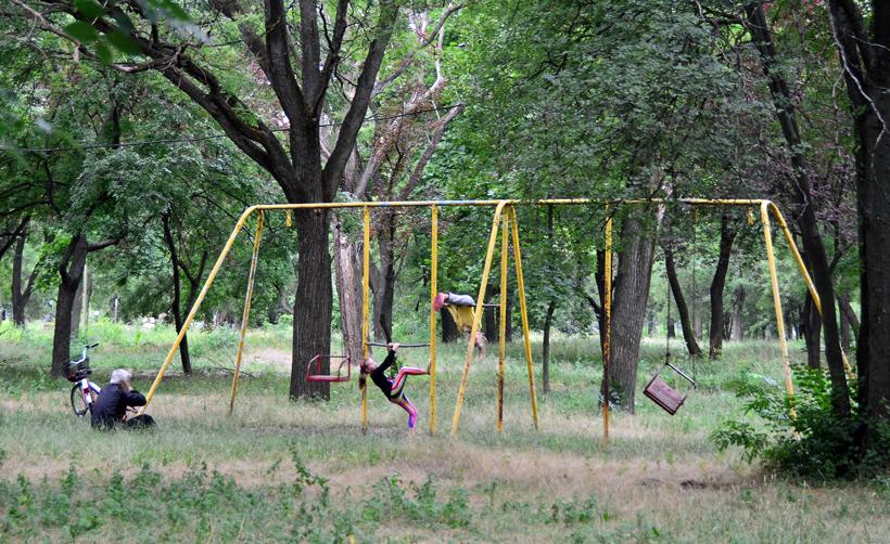Transnistria - Tiraspol - Kirov Park