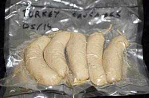 Wild Turkey Emulsion Sausages